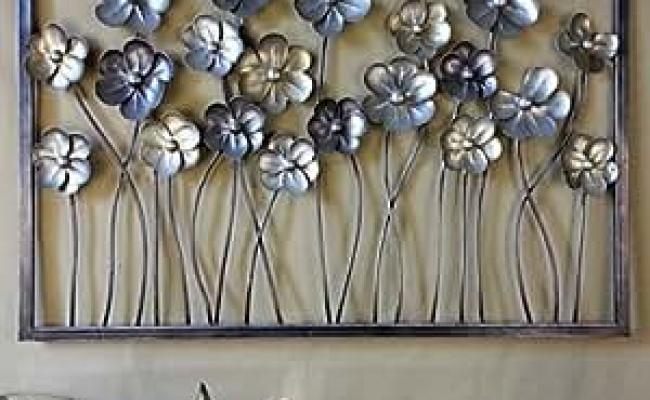 Amazon Metal Wall Art Wall Decor The Flowers Were