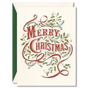 William Arthur Merry Christmas Boxed 10