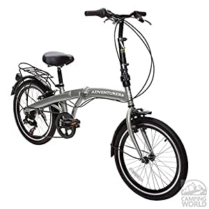 Amazon.com : Adventure Six Speed Fold Up Bike : Everything