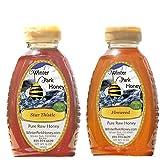 Fireweed Honey & Star Thistle Honey (Pure Natural Raw Honey) 2x16oz