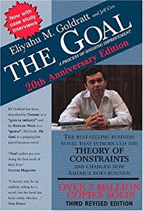 "Cover of ""The Goal: A Process of Ongoing ..."