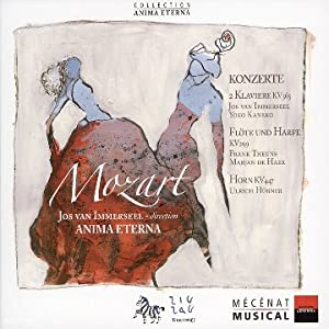Mozart: Konzerte (Concerto for 2 Pianos KV 365; Flute & Harp Concerto KV 299; Horn Concerto KV 447) /Anima Eterna · van Immerseel