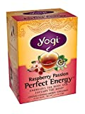 Yogi Raspberry Passion Perfect Energy, 1.27 Ounce Package (16 tea bags)