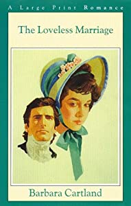 "Cover of ""The Loveless Marriage (G K Hall..."