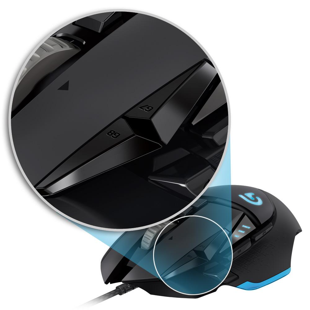 Logitech G502 Proteus Core Tunable Gaming Mouse – Novero Gaming Store