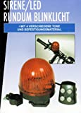 Fahrrad RUNDUM BLINKLICHT LED mit SIRENE 4x Töne Rundumleuchte Fahrradklingel