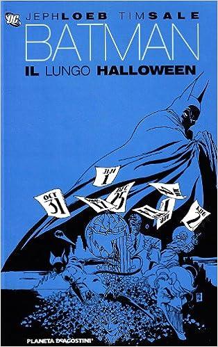 Il Lungo Halloween Batman Copertina
