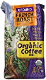 The Organic Coffee Co. Ground, French Roast, 12 Ounce (Pack of 3)