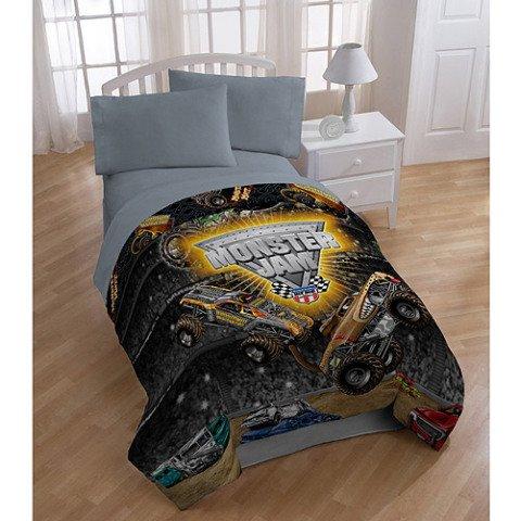 ** Monster Jam Twin/Full Comforter Reviews   Kids Comforters