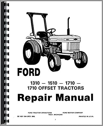 Ford 1710 Tractor Service Manual: Amazon.com: Industrial