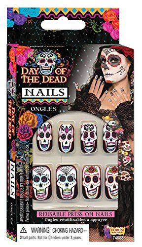 Forum Novelties Day Of The Dead Nails Adult