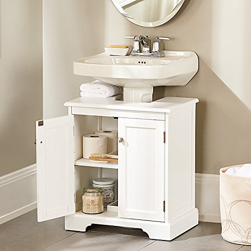Pedestal Sink Cabinet  Instantly Create a Portable Under