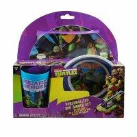 Teenage Mutant Ninja Turtles 3 Piece Dinnerware Gift Set ...