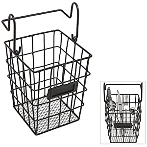 Amazon.com: Modular Black Metal Mesh Wire Hanging Kitchen