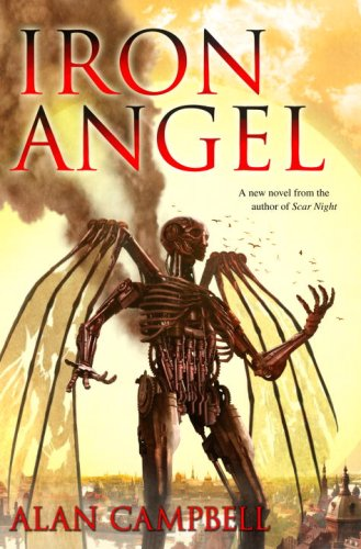 Iron Angel, by Alan Campbell (US cover)