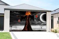 Great Stuff  Garage Door Halloween Decorations