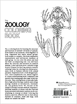 Amazon.com: The Zoology Coloring Book (9780064603010