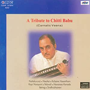 Buy A Tribute To Chittibabu  Veena  Vol 1 Online At Low