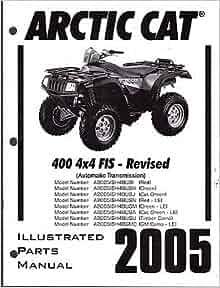 2005 ARCTIC CAT ATV 400 4X4 FIS AUTOMATIC TRANSMISSION