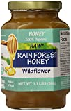 Novo Mel Brazilian Rainforest Raw Organic Honey, 17.6 Ounce, Pack of 1