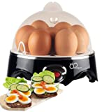 DBTech Electric Egg Cooker - With Automatic Shut off an Buzzer to notify you when the eggs are ready
