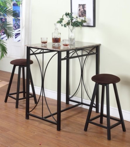 Cheap 3 Pc Marble Laminate Counter Height Table amp 2  : 51XBD1 APgL from jfsjdiningroomfurniture.wordpress.com size 444 x 500 jpeg 41kB