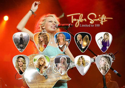 Cheap Taylor Swift Guitar Pick Display Limited 100 Only The pick display