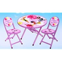 Disney Fairies Tinkerbell 3 Piece Folding Table and Chair ...