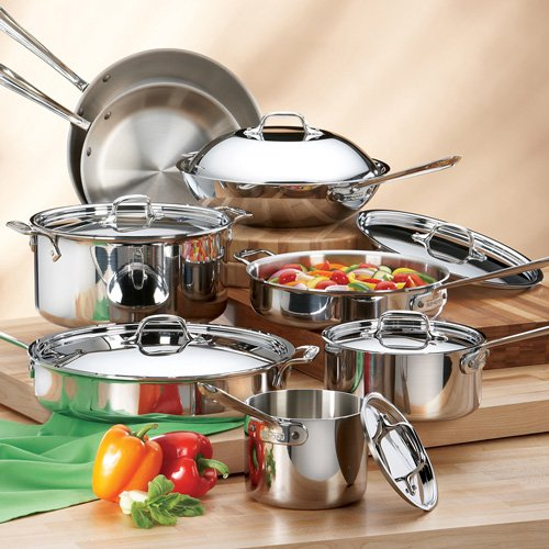 All-clad stainless cookware sets