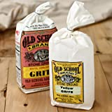 Old School Stone Ground Grits - White Grits (2 pound)