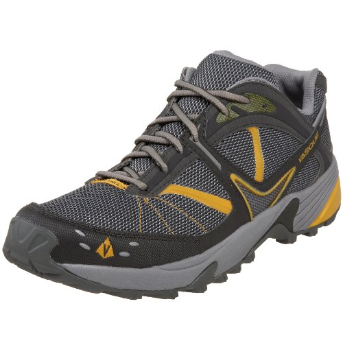 Vasque Men's Mindbender Trail Running,Beluga/Yellow,8 M