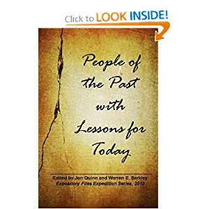 People Of The Past With Lessons For Today (Volume 1)