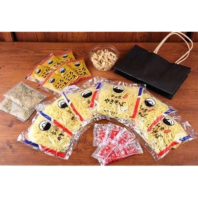 木下製麺所 富士宮焼きそば (工場直送)【黒麺】6食セット