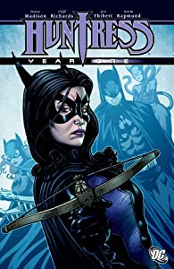 """Cover of """"Huntress: Year One"""""""
