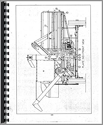 Allis Chalmers 60 Combine Operators Manual: Amazon.com
