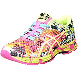 ASICS Gel-noosa Tri 11, Damen Laufschuhe, Pink (hot Pink/flash Yellow/black 3407), 39 EU