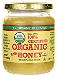 YS Royal Jelly/Honey Bee - Organic Honey, 16 oz gel