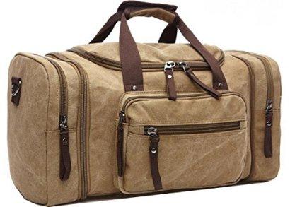Aidonger-Unisex-Canvas-Travel-Bag-with-big-Capacity-Kaki
