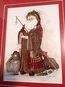Framed Peggy Reimel Abrams Christmas Art Print