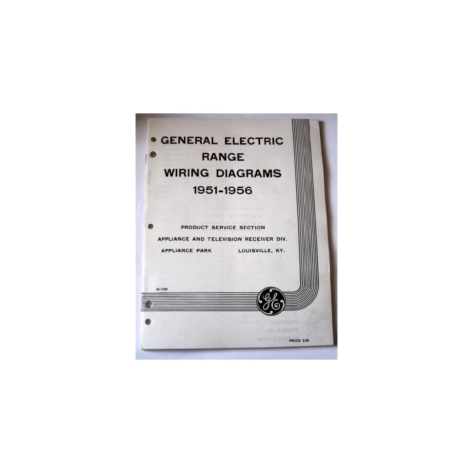 hight resolution of electric range wiring diagrams 1951 1956 general electric books