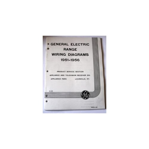 small resolution of electric range wiring diagrams 1951 1956 general electric books