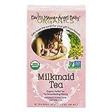 Earth Mama Angel Baby Organic Milkmaid Nursing Tea, 16 Teabags/Box  (Pack of 3)