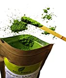 Japanese Matcha Green Tea Powder - 100% Certified Organic - Natural Energy & Focus Booster Packed With Antioxidants. Perfect Matcha Tea For Mixing In Lattes, Smoothies & Cooking Recipes (1.05oz) By eco heed