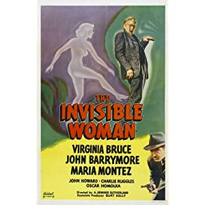 The Invisible Woman Movie Poster (27 x 40 Inches - 69cm x 102cm) (1940) Style C -(John Barrymore)(Virginia Bruce)(John Howard)(Charlie Ruggles)(Oscar Homolka)(Margaret Hamilton)