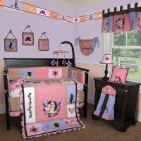 Custom Baby Bedding -Western Cow Girl 13 PCS Crib Bedding ...