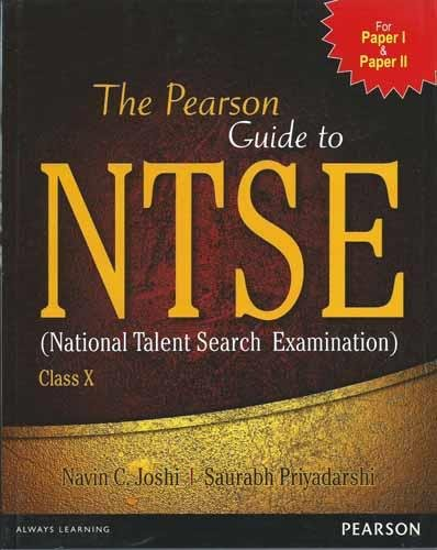 The Pearson Guide to Ntse (National Talent Search Examination) Class X