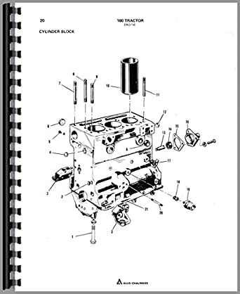 Allis Chalmers 160 Tractor Parts Manual: Amazon.com
