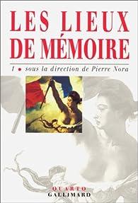 Pierre Nora Les Lieux De Mémoire : pierre, lieux, mémoire, Lieux, Mémoire,, Pierre, Babelio