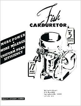 Fish Carburetor The Carburetor Book: Michael H. Brown