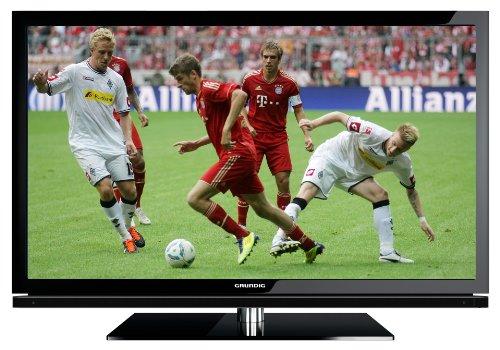 Grundig 46 VLE 8160 BL 117 cm (46 Zoll) 3D LED-Backlight-Fernseher, Energieeffizienzklasse A (Full-HD, DVB-T/C/S2) schwarz